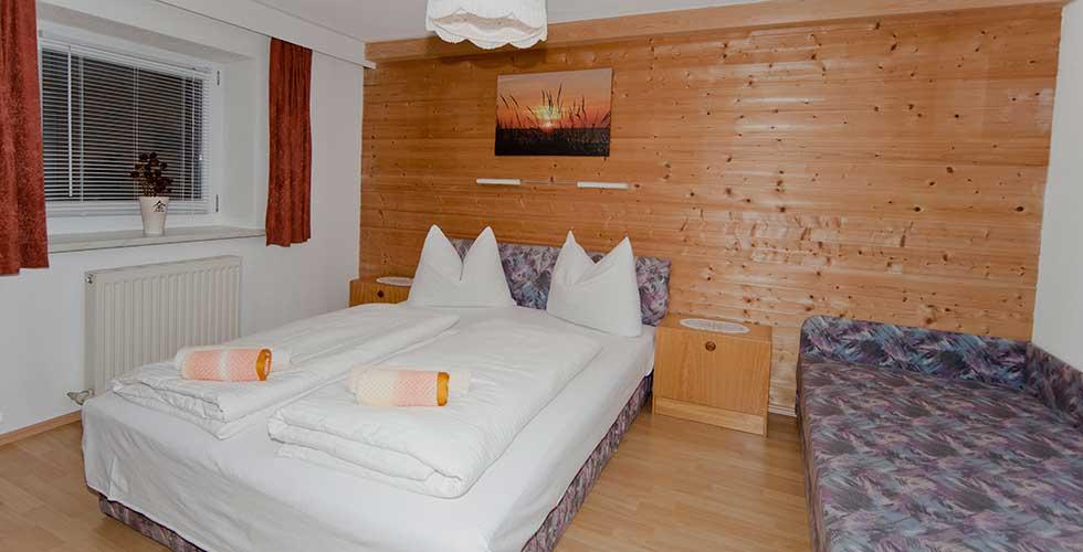 Schlafzimmer Wohnung D